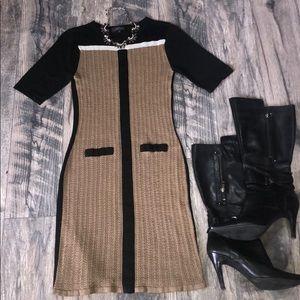 Tahari knitted dress